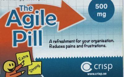 De Agile Pil voor een Agile mindset