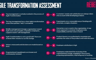 12 questions to measure the success of your Agile transformation: inspect & adapt